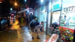 Silvan'da Sağanak Yağış, Yaşamı Etkiledi