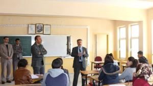 İl Milli Eğitim Müdürü Arslan Bulanık'ta