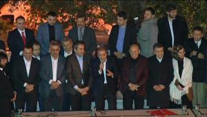 AK Parti İstanbul İl Merkezi Önünde Kutlama...
