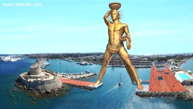 Ünlü Rodos Heykeli Yeniden Yapılacak