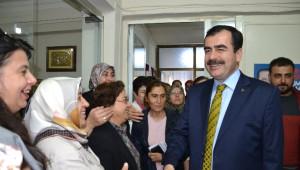 Ak Partili Vekillerden Nazilli'ye Teşekkür Ziyareti
