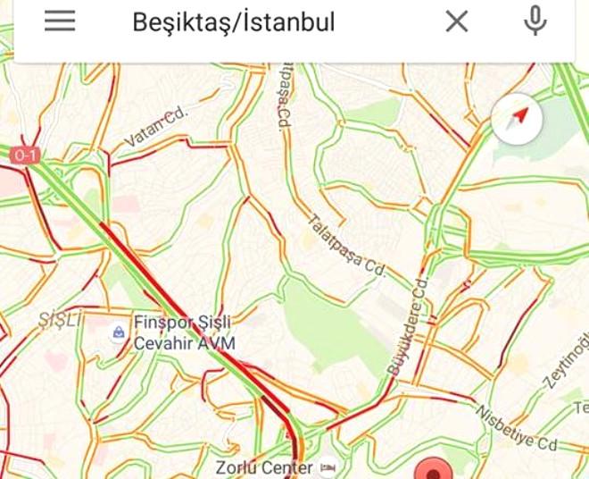 Google Haritalar'da Ülkemizde Gelen Yeni Özellikler