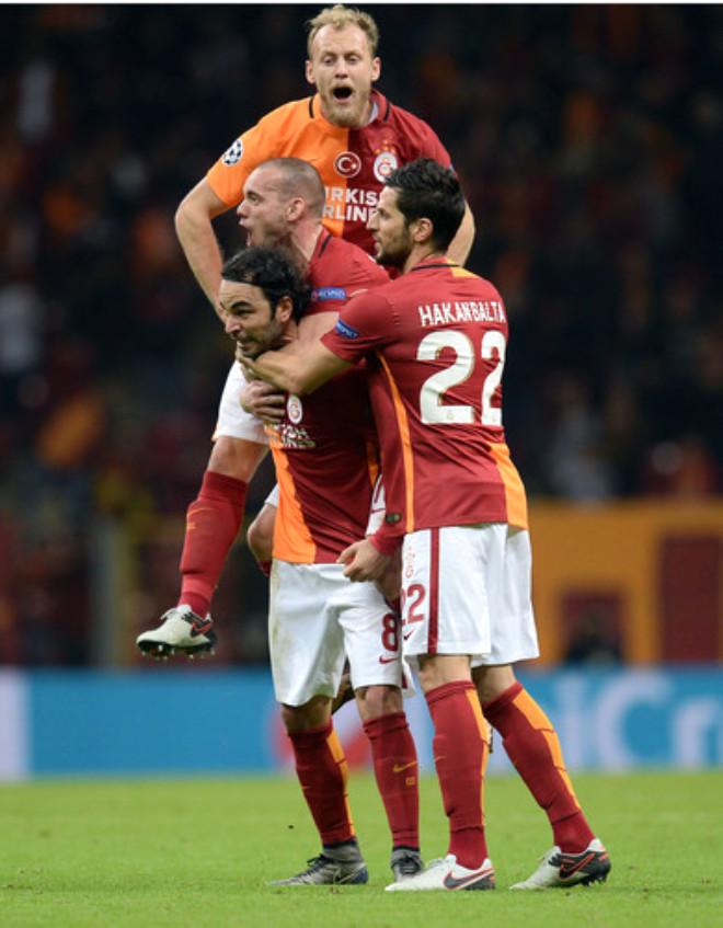 Galatasaray: 1 - Astana: 1