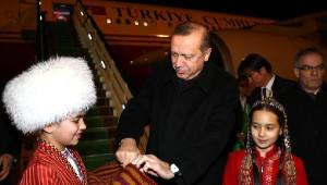 Cumhurbaşkanı Erdoğan Türkmenistan'da - Fotoğraflar
