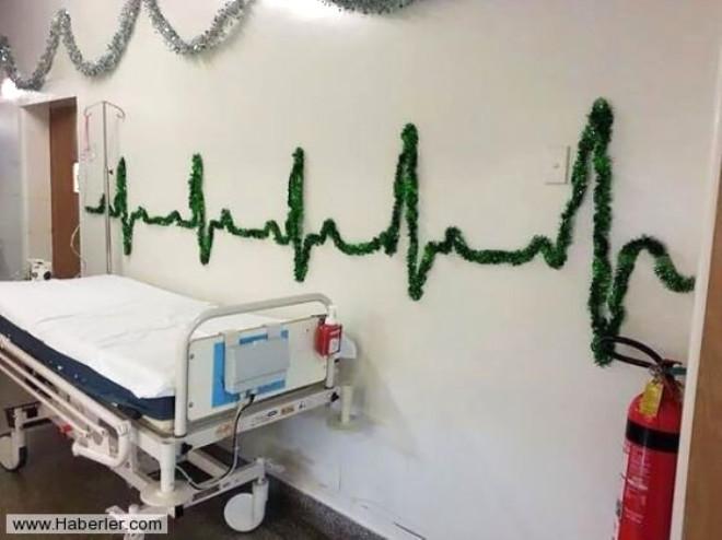 Sağlık Sektöründe Alternatif Yılbaşı Dekorasyonu