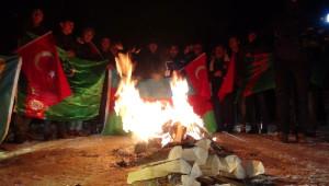 Türk Dünyasından Gençlerin Sarıkamış'ta Saygı Nöbeti