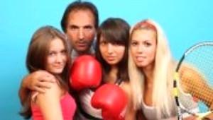 Rusya'nın En Şanslı Erkek Tenis Hocası: Zaur Abuladze