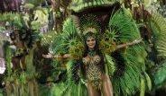Brezilya'da Rio Karnavalı Ateşi Yandı