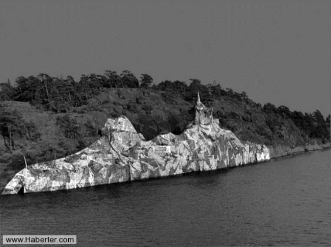 En Şaşırtıcı Kamuflaja Sahip Gemiler