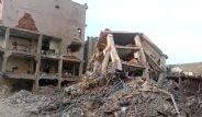 Cizre'de 41 Cenazenin Çıkarıldığı Binadan İlk Görüntüler