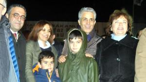 Erdem Gül'ün Eşi Aslı Gül, 2 Oğlu ile Birlikte Silivri Cezaevi'ne Geldi