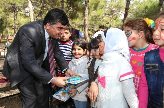Suriyeli Yetim Çocuklar Şehitkamil'de Moral Buldu