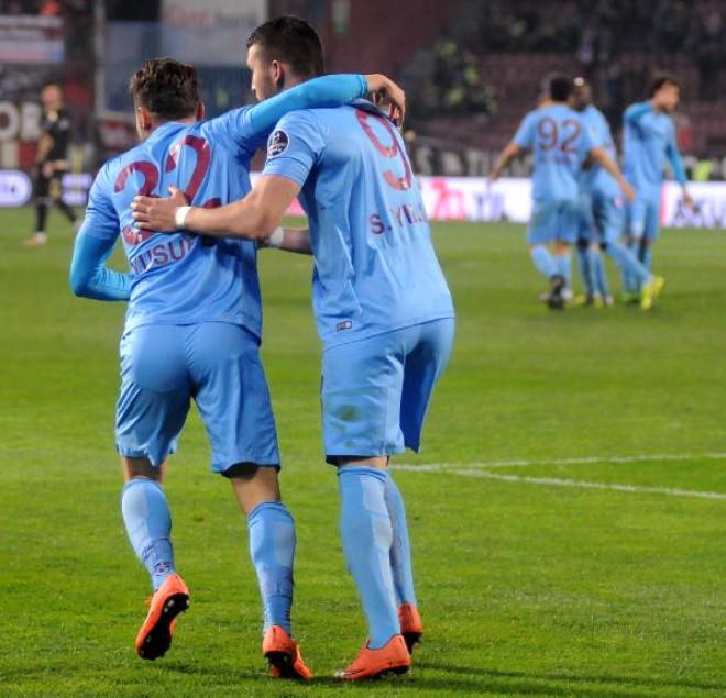 Trabzonspor-Osmanlıspor Maçı Ek Fotoğrafları