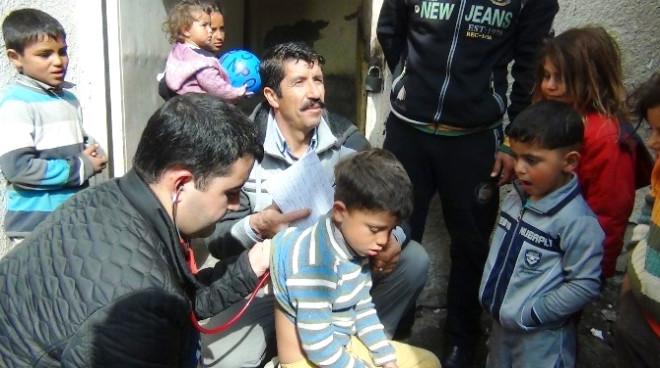 Erciş'te Suriyeli Ailelere Sağlık Hizmeti