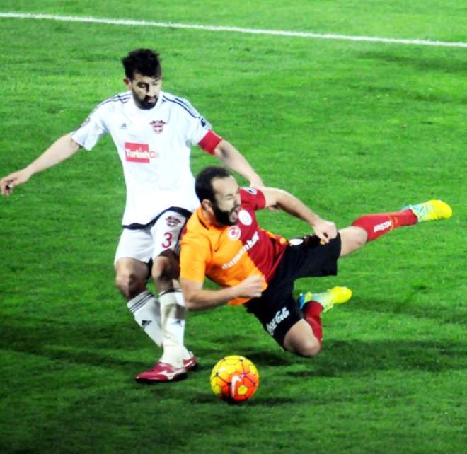 Gaziantepspor-Galatasaray: 2-0