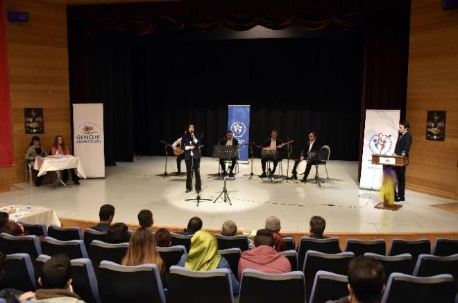 Gümüşhane'de Türk Müziği Yarışması İl Birinciliği Yapıldı