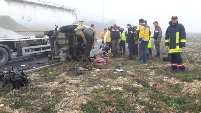 Keşan'da Kaza: 2 Ölü - Ek Fotoğraflar