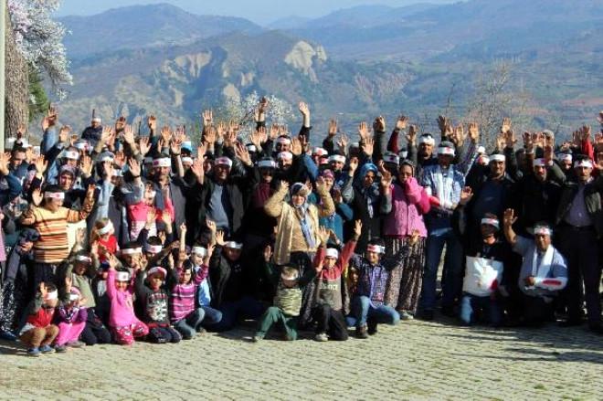 Köylülerden 'Hepimiz Muhtarız' Eylemi