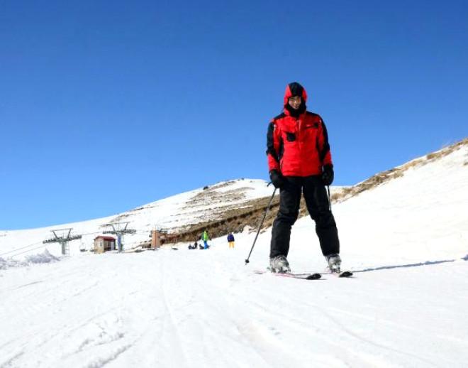 Nemrut Kayak Severlerin Uğrak Mekanı Oldu