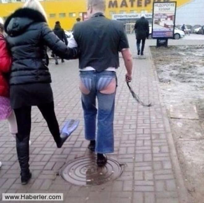 Sadece Rusya'da Karşılaşabileceğiniz Garip Görüntüler