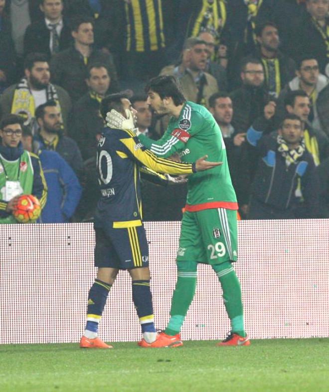Fenerbahçe-Beşiktaş Maçının Fotoğrafları (Ek)