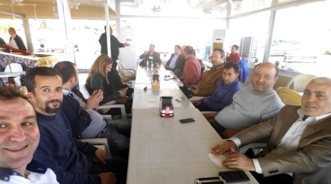 Gazetecilerin Edremit'te Körfez Buluşması