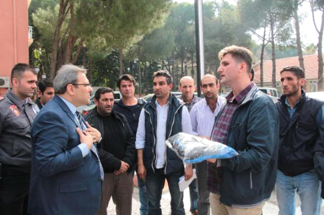 Manisa Sanayispor'dan Anahtar Teslim Protesto