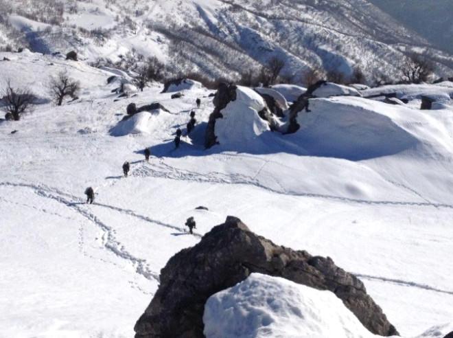 Mehmetçik Zorlu Kış Şartlarında Operasyonlarına Devam Etti