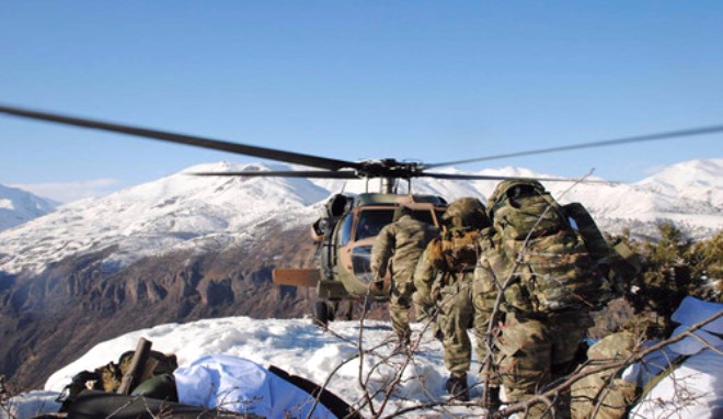 PKK'ya Ait Mühimmat, Tıbbi Malzeme ve Yaşam Malzemesi Ele Geçirildi