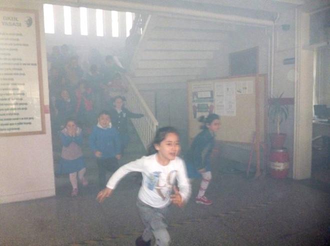 Turhal'da Yangın Tatbikatı Gerçeğini Aratmadı