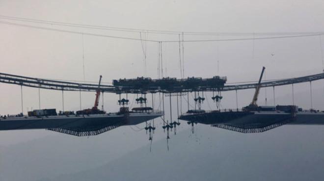 Üçüncü Köprü İnşaatında Sona Doğru