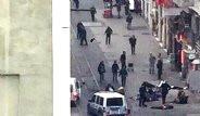 İstiklal Caddesi'ndeki Patlamadan İlk Fotoğraflar