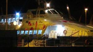 Deniz Otobüsü Fırtınaya Yakalandı