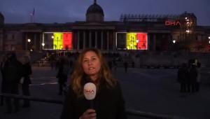 İngiltere'den Belçika'ya Büyük Destek
