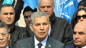 Türkmenlerden Işid Protestosu