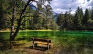 Avusturya'da Kışın Park, Yazın Göl Olan Doğa Harikası Bölge