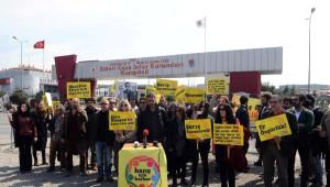 Tutuklu Akademisyenler İçin Silivri Cezaevi Önünde Özgürlük Nöbeti...