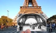 Paris'in Geçmişi ve Bugünü Aynı Karede