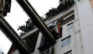 Çin'de Yapılan Metro Hattı Apartmanın İçinden Geçiyor