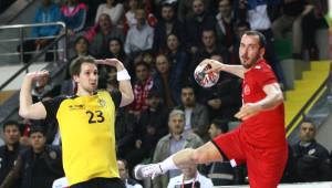 Türkiye- Belçika: 28-37 (2018 Erkekler Avrupa Hentbol Şampiyonası Eleme Grubu)