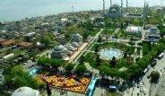 Dünyanın En Büyük Canlı 'Lale Halısı' Sultanahmet'te