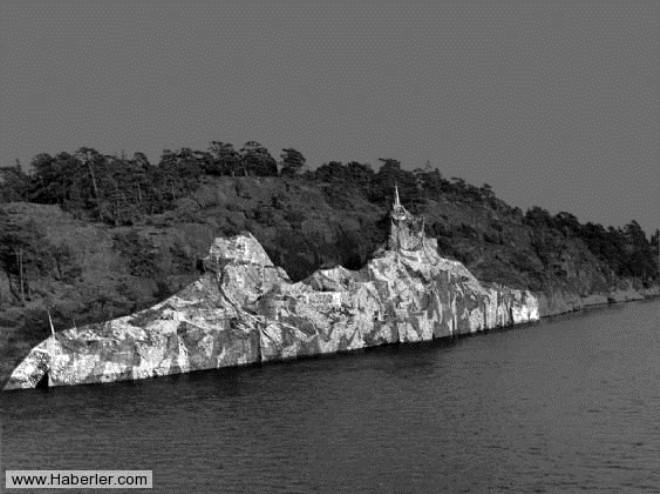 En şaşırtıcı Kamuflaj Gemileri Foto Galerisi