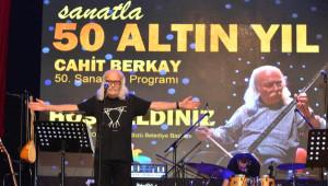 Cahit Berkay'dan, 50'nci Sanat Yılı Konseri