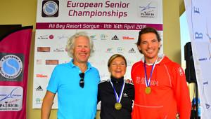 Türkiye, Avrupa Senior Tenis Şampiyonası'nda İkinci Oldu