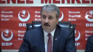 BBP Lideri Destici: MHP'yle Birleşme Söz Konusu Bile Olamaz