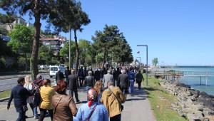 CHP Milletvekilleri Çevrecilerin Tepki Gösterdiği Deniz Dolgusunu İnceledi