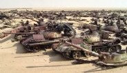 Saddam'dan Kalma Irak Tankları 25 Yıldır Çölün Ortasında