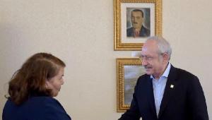 Kılıçdaroğlu, Kesk Başkanı Özgen ve Yönetim Kurulu Üyeleriyle Görüştü