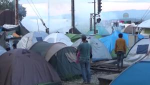 İdomeni'de Polis ve Sığınmacılar Arasında Arbede