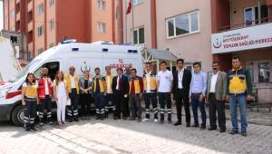 Beytüşşebap'ta 2 No'lu Acil Sağlık Hizmetleri İstasyonu Törenle Açıldı